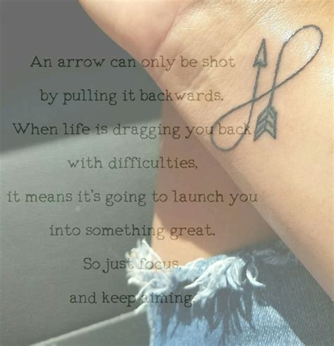 arrow infinity tattoo infinty arrow meaning tattoos