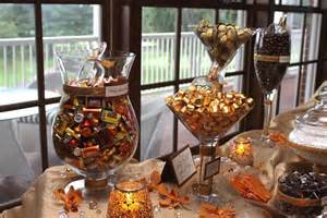 Fall Buffet Table Decorations Our Fall Wedding Buffet Wedding
