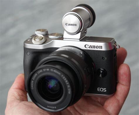 Kamera Canon M6 canon eos m6 on preview