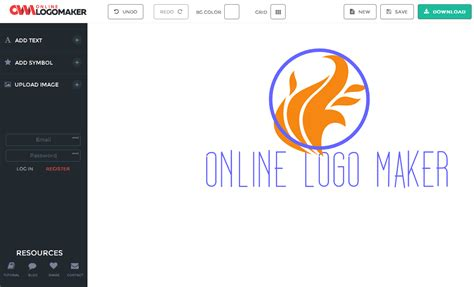 graphic generator free about logo maker