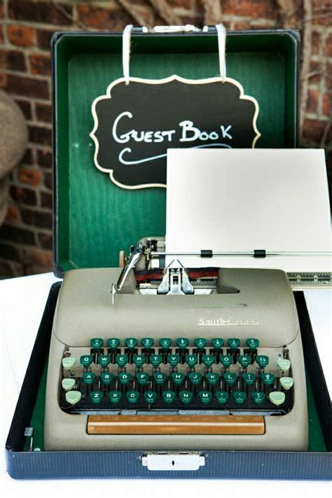 Hochzeitsdekoration Gr N by Die Elektrische Schreibmaschine Ist Immer Noch Cool