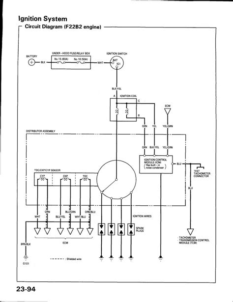 1993 honda civic ignition wiring diagram free