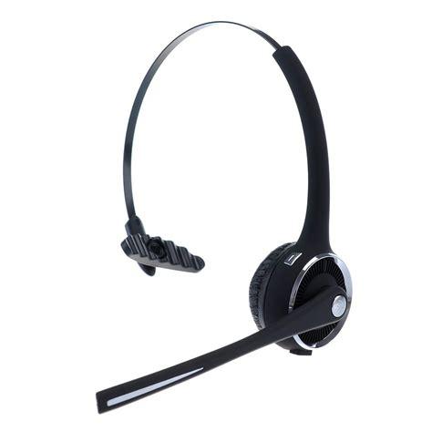 Headset Telinga Bluetooth Headset Model Call Center Black