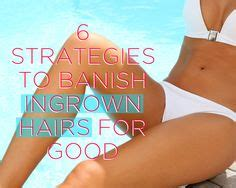 best things to do for an ingrown hair 1000 images about lady bits on pinterest home remedies