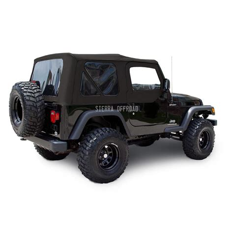 Jeep Wrangler Soft Top Reviews Jeep Wrangler Tj Top 03 06 Tinted Windows Doors