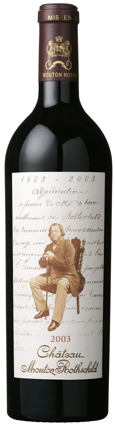 ch 226 teau mouton rothschild the labels room ch 226 teau mouton rothschild 2003