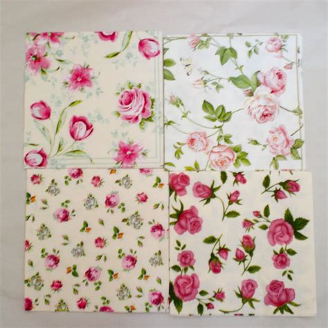 Decoupage Using Napkins - decoromana paper napkins for decoupage also known as a