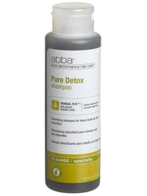 Detoxing Hair Fom Chemical Products by Abba Detox Shoo Free Shipping 99 Luxury