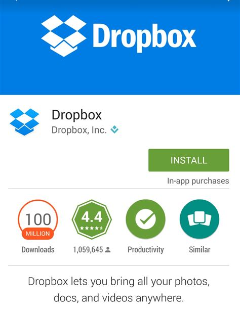 dropbox app backup access your phone photos from anywhere using