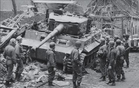 pershing vs tiger germany 1472817168 tiger i that destroyed m26 pershing fireball immobilized by debris and abandoned elsdorf