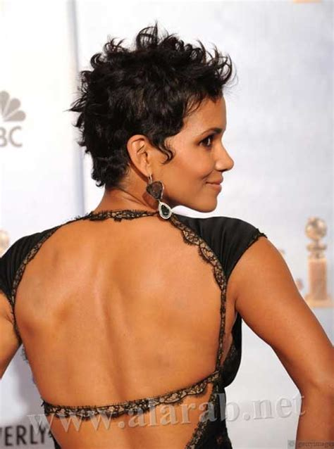 what does halle barre use in her hair to grt it to stand up on top 20 best halle berry short curly hair short hairstyles