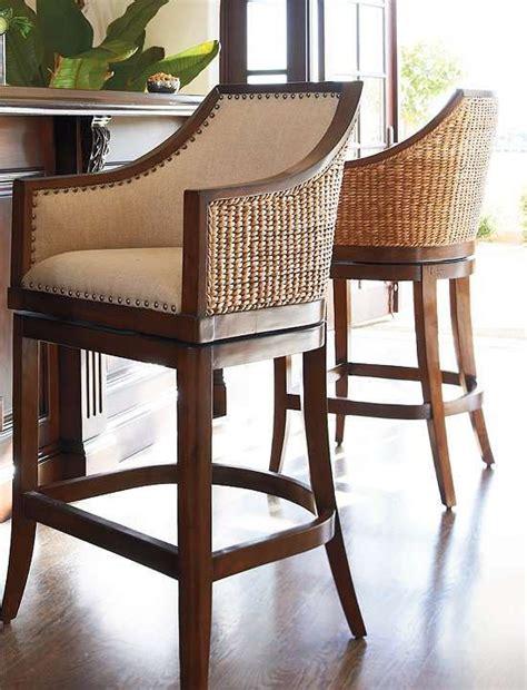 Hawaiian Style Bar Stools by Sheldon Swivel Bar And Counter Stools The O Jays