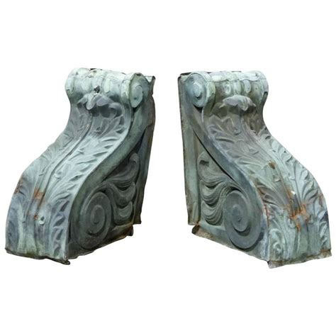 Outdoor Corbels 19th Century Outdoor Copper Corbels At 1stdibs