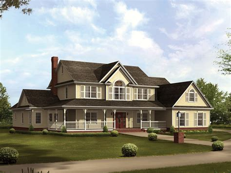 bloombety country large farmhouse plans large farmhouse two story country house plans escortsea