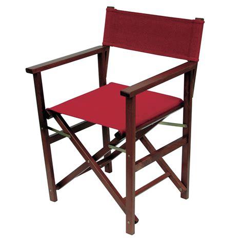 sedie da regista in legno sedia regista di legno seduta in tessuto regista d11