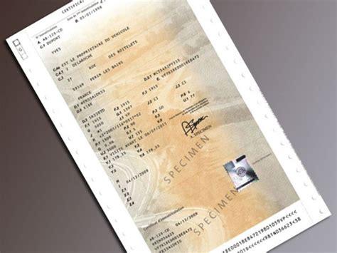 carte grise w garage 4 mois apr 232 s la fermeture des guichets le bug des cartes