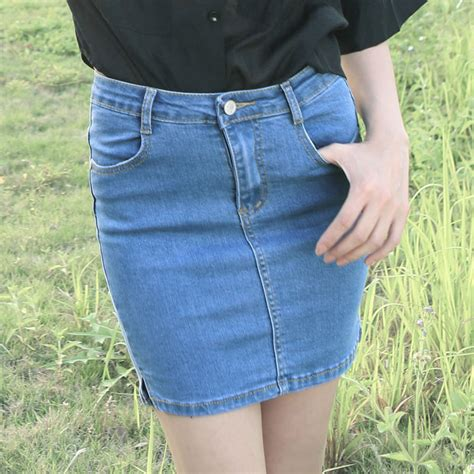 aliexpress buy vintage denim pencil tight