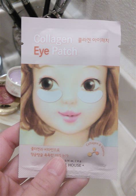 Collagen Eye Patch review etude house collagen eye patch fifty