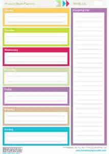 printable weekly planner template search results for free printable weekly planner pages