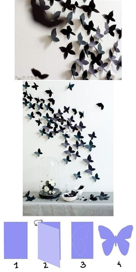 butterfly decorations for home diy butterfly decoration fabdiy