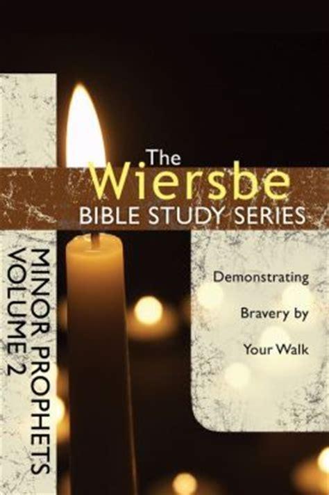 the niv study bible bible series books the wiersbe bible study series minor prophets vol 2
