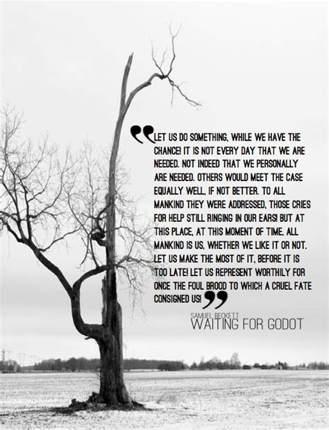 Absurd Theatre Waiting For Godot Essay by Best 25 Waiting For Godot Quotes Ideas On