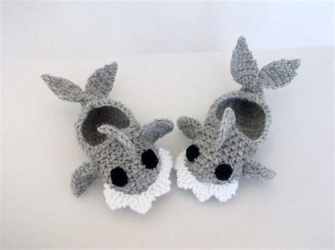 infant house slippers crochet baby shark slippers house shoes crochet baby