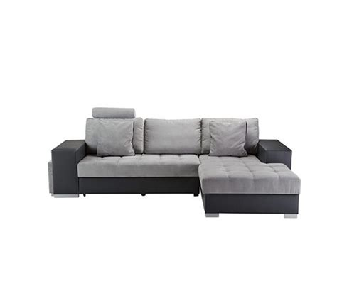 canape meridienne gris canap 233 angle convertible m 233 ridienne droite pu