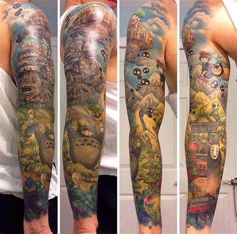 hayao miyazaki tattoo 20 studio ghibli tattoos from miyazaki