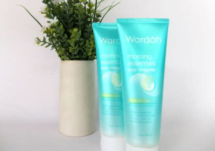 Morning Essential Moisturizer review wardah morning essentials moisturizer yukcoba in