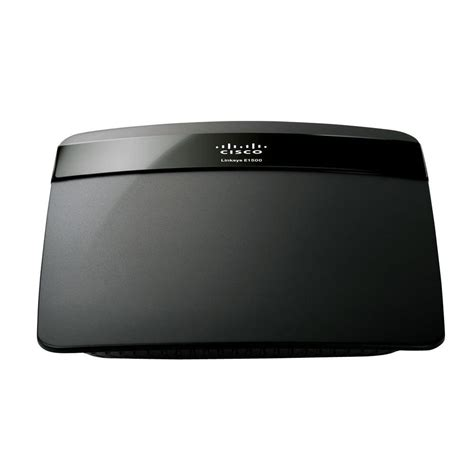linksys wireless n router speedboost e1500 the home depot