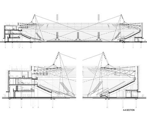 Studio Interior galer 237 a de estadio de la ciudad de lublin estudio lamela