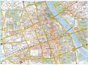 road maps maps of warsaw detailed map of warsaw in maps