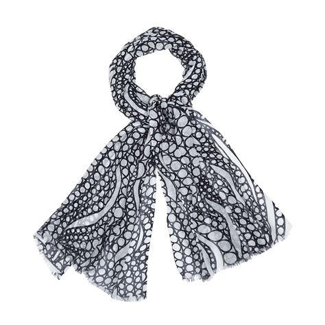 marimekko tyrsky white black scarf marimekko scarves sale