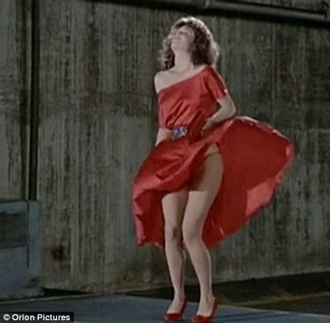 gene wilder red dress kelly lebrock is still a woman in red 27 years on daily