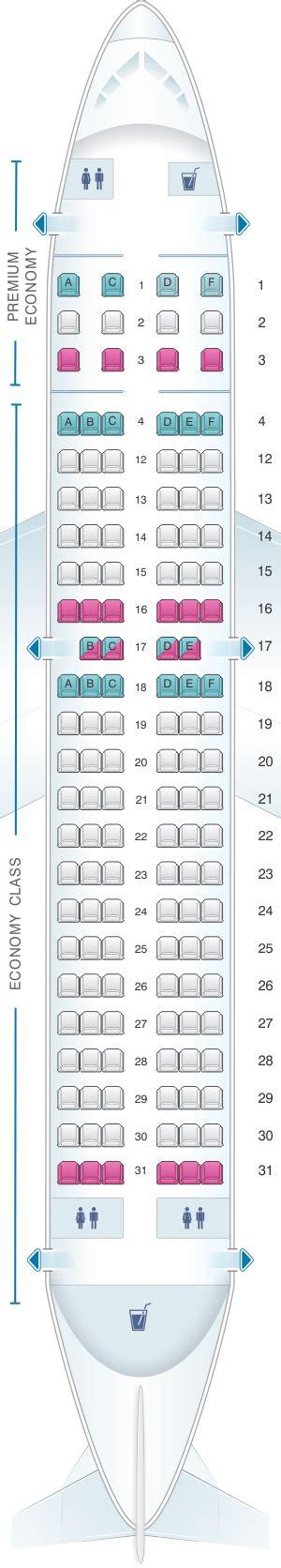 plan siege air plan de cabine air canada airbus a319 100 config 3