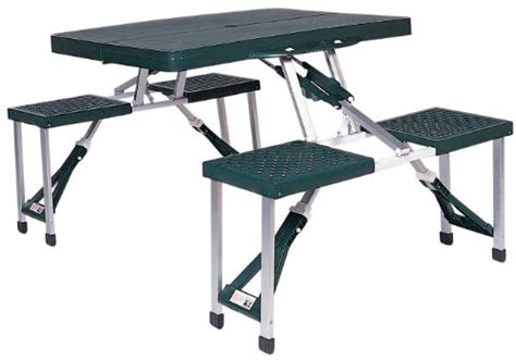 b and q picnic bench stansport portable picnic table green tables patio