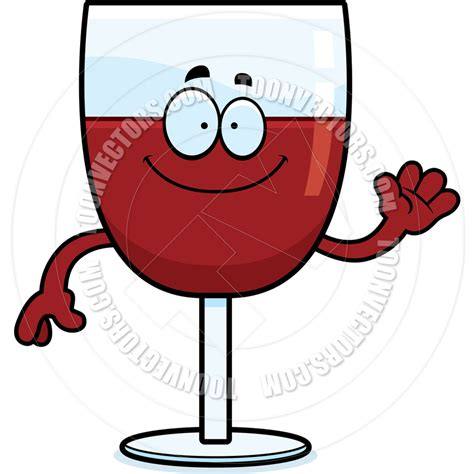 cartoon wine glass wine glass and bottle cartoon