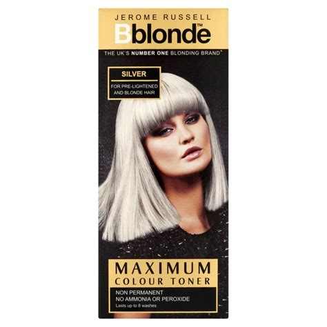 over the counter toner to calm blonde hair morrisons jerome russell b blonde maximum colour toner