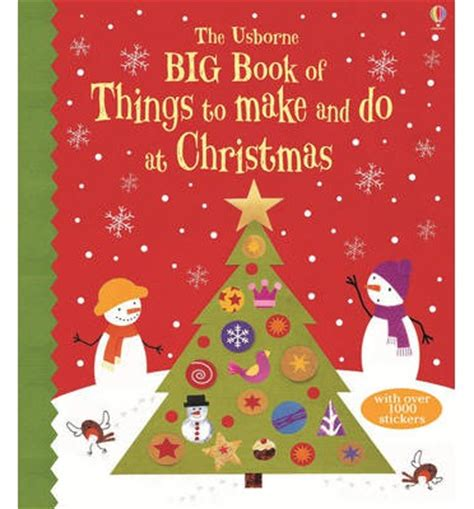 big book of christmas things to make and do 9781409555674