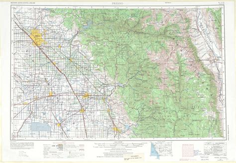 fresno state cus map fresno topographic maps ca usgs topo 36118a1 at 1 250 000 scale