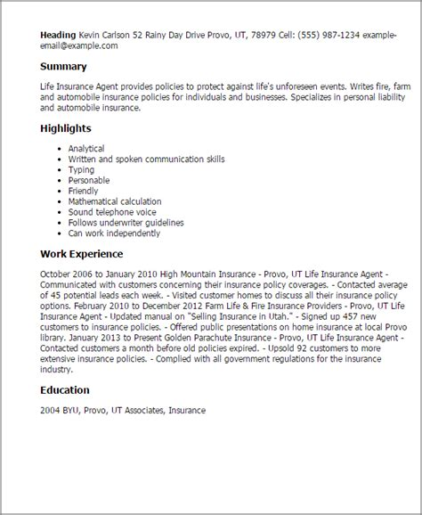 insurance summary template professional insurance templates to showcase