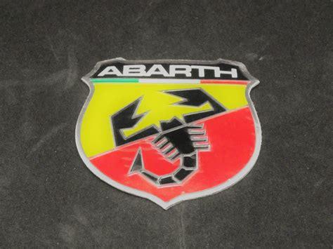 3d Aufkleber Abarth by Fiat Abarth Emblem Aufkleber 3d D 252 Nne Metallschicht Eur