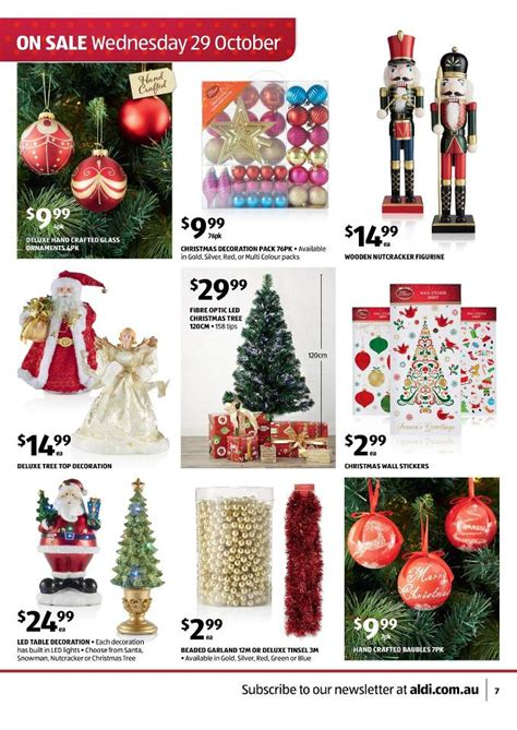 aldis christmas decorations aldi catalogue special deals and summer page 7