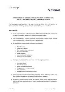 t m contract template ciob complex projects contract 2013 25 april 2013