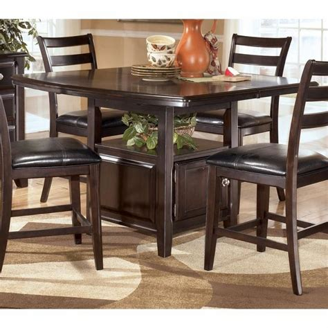 pub dining room tables furniture dining room pub gathering height tables images