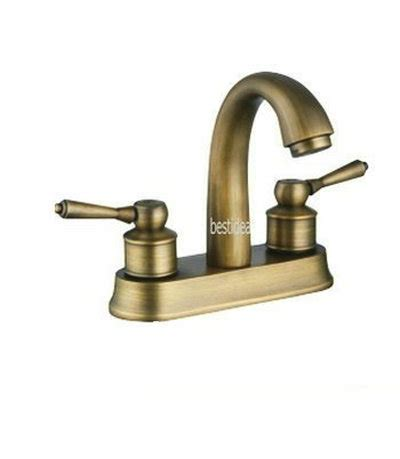 European Faucet Brands by European Style Two Handle Center Set Bathroom Vessel Sink