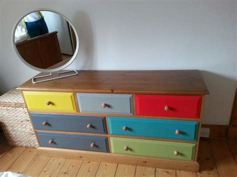 Upcycle Drawers by Upcycled Pine Chest Of Drawers Up Cycling Furniture