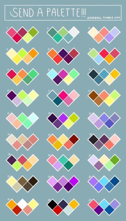 color challenge color palette challenge meme