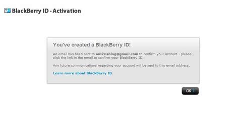 cara membuat email baru pada blackberry cara membuat blackberry id baru dari komputer laptop